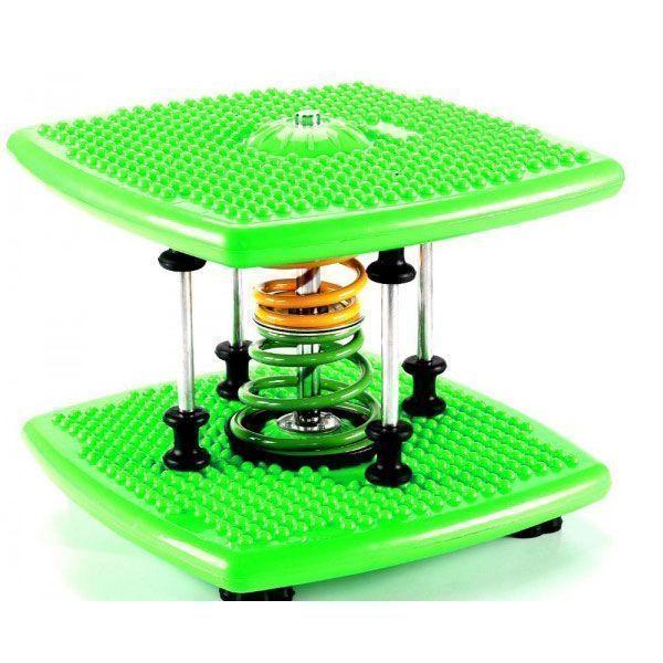 Степпер твист Twister Dance Machine тонкая талия зеленый, для талии и бедер, для спорта дома поворотныйСтепперы Twister Dance<br>Степпер твист Twister Dance Machine тонкая талия зеленый<br> <br> <br>  <br> <br> <br>Степпер твист Twister Dance Machine заменит аэробику, батут, беговую дорожку. Вы получите невероятный эффект! В комфортных домашних условиях прямо перед телевизором Вы можете поочередно заниматься всей семьей.<br> <br>Тренажер Dancing stepper поможет вам избавиться от лишнего веса легко и непринужденно. Выполняйте упражнения под музыку и худейте. Ваша талия и бедра заметно уменьшатся в объеме. Компактный мини степпер для дома, как нельзя лучше подходит к малогабаритным городским квартирам. Для него не надо искать места: просто достаньте его из-под кровати и занимайтесь.<br> <br>Во время движений Вы сжигаете калории, развиваете мышцы рук, ног, живота, спины, становитесь более выносливыми и подтянутыми. А главное, не надо никуда идти: тренажерный зал для занятий спортивными танцами уже у Вас дома. И это тренажер Степпер Dance Twister! Ежедневные пятнадцатиминутные упражнения на stepper mini Break Machine-Dance Machine очень полезны для подростков, особенно, если они целыми днями просиживают у мониторов. Тренажер fitness stepper помогает улучшить координацию движений и чувство равновесия, всегда быть в тонусе, укрепить сердечно-сосудистую систему.<br> <br><br> <br>Красивая фигура - это просто!<br> <br>Кто не хочет иметь красивую фигуру? Так сделайте первые шаги на пути к этой цели: купите степперTwister Dance Machineи худейте с удовольствием! Красивые стройные ноги, тонкая талия, упругие бедра и ягодицы – вот результат регулярных занятий.<br> <br>Вы все еще сидите у экранов телевизоров, портите зрение и ухудшаете осанку? Немедленно начинайте заботиться о своем здоровье и внешнем облике! А современный миниатюрный степпер тренажер поможет Вам в этом.<br> <br> <br>  <br> <br> <br>Тренажер Твистер Денс – это уникальное устройство для занятий спортом в развлекате