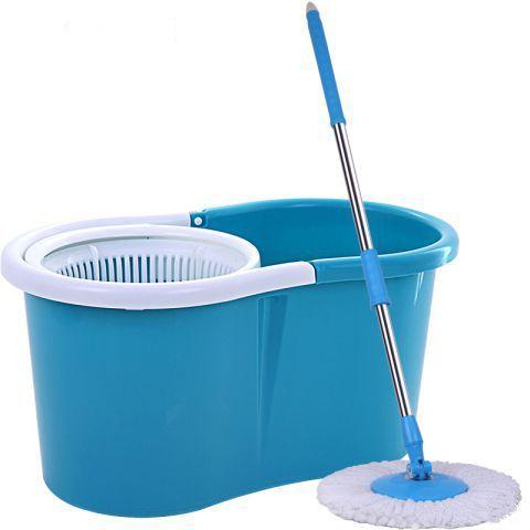 Универсальная швабра с отжимом Спин энд Гоу 2 (Spin and Go 2) синяяШвабры с отжимом<br><br> Как вы считаете, можно ли помыть пол у себя дома буквально за несколько минут, даже не запачкав руки? Конечно, можно, - если вы решите купить швабру Спин энд Гоу. Это – чудо-приспособление, которое позволяет быстро и качественно помыть пол, кафельную плитку, стекла, кузов машины и другие плоскости без разводов и луж. Удобная раскладная рукоять, моющая часть из микрофибры и ведро с отделением для отжима – все это Spin and Go 2, самый популярный на отечественном рынке и недорогой девайс для поддержания порядка в вашем доме.<br><br><br>  Смотрите также - Насадка на швабру Spin and Go<br><br><br>  Смотрите также - Другие модели швабр с отжимом<br><br>Легкая и непринужденная уборка – это возможно!<br><br> Теперь вам не нужно кланяться немытому полу, окунать руки по локоть в грязную воду и браться за половую тряпку. Все самые неприятные действия за вас выполнит универсальная швабра:<br><br>  <br><br>Легкую рукоять можно настроить под свой рост или под определенные работы.<br>Круглая насадка из практичной микрофибры сделает уборку максимально эффективной – этот современный чудо-материал моментально впитывает воду, удаляет любые загрязнения, даже если вы будете мыть пол простой водой, без моющих веществ.<br>После уборки вы просто отстегиваете насадку, стираете ее в стиральной машине и сушите. После этих нехитрых манипуляций ваша швабра снова станет выглядеть, как только что из магазина!<br>Ведро со специальным отсеком для отжима – практичное и действенное усовершенствование. Вы самостоятельно регулируете интенсивность отжима микрофибры – от влажной до почти сухой. И никакого вреда вашим ладоням и ногтям! <br>Конструкция швабры обеспечит вам доступ к углам и пола под мебелью.<br><br>Преимущества<br> <br><br>Спин энд Гоу 2 – это:<br><br><br>идеальное соотношение доступной цены и эффективности;<br>простота и эргономичность устройства;<br>универсальная сфера применения и широкий спектр д
