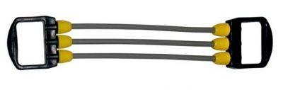 Эспандер JOEREX 7889Эспандеры<br><br> Эспандер для фитнеса 3 шнура<br><br><br> Эспандер выполнен в привлекательной расцветке, снабжен латексными шнурами и пластиковыми ручками. Изысканный дизайн и качественные надежные материалы сделают занятия фитнесом еще более приятными и комфортными.<br><br>Характеристики<br><br><br><br><br> Вес:<br><br><br> 0.4 кг.<br><br><br><br><br> Все размеры:<br><br><br> 38*13*5<br><br><br><br><br> Гарантия:<br><br><br> 1 месяц.<br><br><br><br><br> Материал:<br><br><br> ПВХ, жгуты из латекса<br><br><br><br><br> упаковка габариты см:<br><br><br> 38*13*5<br><br><br><br><br>