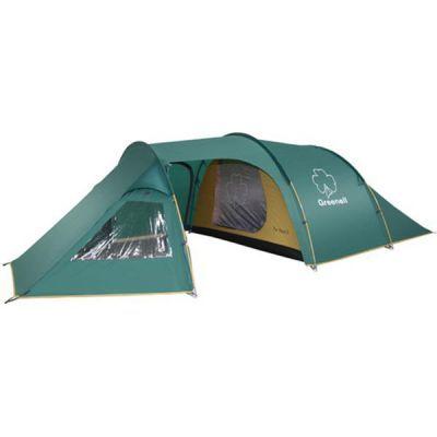Палатка Greenell Арди 3Туристические палатки<br><br> Классическая конструкция полубочкой. Имеет большую обитаемость и низкий вес. Три входа и большой тамбур. Одно спальное отделение. Большие окна. Возможна отдельная установка тента.<br><br><br> В комплекте колышки из алюминия. Особенности конструкции:<br><br><br>Карманы    <br>Прозрачные окна    <br>Проклеенные швы    <br>Противомоскитная сетка<br><br>Характеристики:<br><br><br><br><br> Вес:<br><br><br> 6,2 кг.<br><br><br><br><br> Водонепроницаемость:<br><br><br> 3000 мм.<br><br><br><br><br> Все размеры:<br><br><br> Внешняя палатка 460(Д)x220(Ш)x120(В) см, внутренняя палатка 230(Д)x220(Ш)x120(В) см.<br><br><br><br><br> Высота:<br><br><br> 120 см.<br><br><br><br><br> Каркас:<br><br><br> фиберглас 9,5 мм, сталь 13/16/19 мм.<br><br><br><br><br> Материал внутренний:<br><br><br> Polyester 190T дышащий.<br><br><br><br><br> Материал пола:<br><br><br> армированный полиэтилен (tarpauling).<br><br><br><br><br> Материал внешний:<br><br><br> Poly Taffeta 190T PU 3000.<br><br><br><br><br> Обработка швов:<br><br><br> проклеенные швы.<br><br><br><br><br> упаковка габариты см:<br><br><br> 64*22*22<br><br><br><br><br>