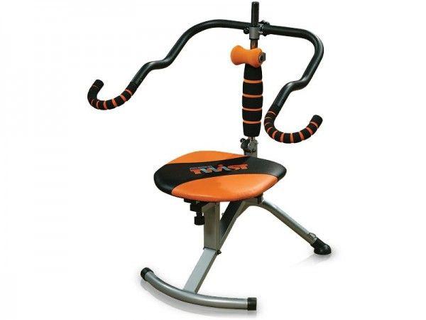 Тренажер для пресса Ab Doer Twist (Аб Доер Твист)Тренажеры для пресса<br>Тренажер для пресса Ab Doer Twist (Аб Доер Твист)<br> <br>На тренажере Ab Doer Twist можно тренироваться сидя, он поддерживает вес вашего тела во время занятий, уменьшает нагрузку на него, обеспечивая при этом удивительные результаты, ведь тренажер имеет амплитуду движений 360 градусов.<br> <br>Секрет тренажера Ab Doer Twist в биометрической синергии, что позволяет одновременно наращивать мускульную массу без лишнего жира, подтягивать переднюю часть и сжигать калории благодаря аэробным упражнениям!<br> <br>В чем особенность тренажера Ab Doer Twist?<br> <br>Тренажер для пресса и спины Ab Doer Twist при регулярных и неутомительных занятиях поможет уже за несколько месяцев добиться вполне спортивной фигуры. При этом он может служить обычным рабочим креслом для работы на компьютере, и таким образом, ничуть не скрадывать свободное пространство в любом доме.<br> <br>Кроме того, его можно использовать и в любом офисе, может снижать утомляемость и сонливость работников, и, таким образом, способствовать увеличению производительности труда. Он легко собирается и хранится, прост в использовании. При этом очень эффективен — развивает мышцы всего тела и одновременно сжигает лишний жир, отлично снимает усталость после напряженной работы. Более того, вращательно-гибкая torsion-flex технология задействует и те мышцы, которые являются недосягаемыми при других упражнениях.<br>  <br> Преимущества:<br> <br> - Прост в использовании<br> <br> - Развиваем мышцы всего тела<br> <br> - Формирует мышцы и сжигает лишний жир одновременно.<br> <br> - Эфективно прорабатывает каждую мышцу<br> <br> - Не требует длительных тренировок.<br> <br> - Имеет амплитуду движений 360 градусов.<br> <br> - Заменяет профессиональное оборудование.<br> <br> - Легко складывается для хранения.<br> <br>Запатентованная вращательно-гибкая torsion-flex технология разогревает те мышцы, которые являются недосягаемыми для других упражнений. А специальн