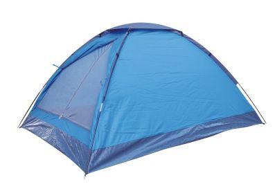 Палатка Green Glade DuodomeТуристические палатки<br><br> Недорогая однослойная палатка для непродолжительных выездов на природу в хорошую погоду в весенне-летний сезон. <br><br><br> Хорошо подойдет как:<br><br><br>Фестивальная палатка.<br>Палатка для походов выходного дня.<br>Палатка для велопоходов, когда важен меньший вес и меньший размер.<br>Палатка для летней рыбалки с ночевкой.<br>Палатка для детских игр: дети обожают забираться в свой игровой домик.<br><br><br><br><br> Водостойкость тента 1000 мм, что вполне достаточно для защиты от дождя и ветра. Однако надо помнить, что швы в этой модели не проклеены, поэтому если Вы собираетесь в дождливую местность, то лучше выберите палатку подороже с проклеенными швами.<br><br><br> Это достаточно легкая палатка. <br><br><br> Ее можно очень просто установить буквально за 3-5 минут.<br><br><br> Дно палатки полностью водонепроницаемо и сделано из прочного армированного полиэтилена.<br><br><br> Москитная сетка на входе в палатку дублируется глухой дверью, которая застегивается на молнию и липучку.<br><br><br> Вентиляция осуществляется через вентеляционное окно на куполе палатки, которое сверху прикрывается от дождя водонепроницаемым полотном.<br><br><br> Внутри палатки по бокам есть два кармашка для мелочей.<br><br><br> <br><br><br> Назначение палатки: фестивальная палатка, для походов выходного дня.<br><br>Характеристики:<br><br><br><br><br><br><br> Вес:<br><br><br> 1,9 кг.<br><br><br><br><br> Водонепроницаемость:<br><br><br> 1000 мм.<br><br><br><br><br> Все размеры:<br><br><br> 205(Д)x150(Ш)x105(В) см.<br><br><br><br><br> Высота:<br><br><br> 105 см.<br><br><br><br><br> Каркас:<br><br><br> фиберглас 7,9 мм.<br><br><br><br><br> Материал пола:<br><br><br> армированный полиэтилен (tarpauling).<br><br><br><br><br> Материал внешний:<br><br><br> 180T полиэстер, пропитка PU 1000 мм. Толщина нити 60D.<br><br><br><br><br> Обработка швов:<br><br><br> непрокленные швы.<br><br><br><br><br> упаковка габариты см:<br><br><br> 57*9*9<br><b