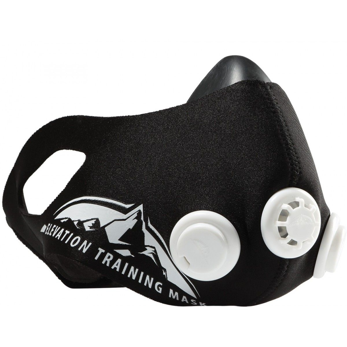 Тренировочная маска Elevation Training Mask 2.0 (размер M), для ограничения дыхания и выносливостиТренировочные маски<br>Тренировочная маска Elevation Training Mask 2.0 (размер M)<br> <br> <br>  <br> <br> <br> <br>  Здоровый образ жизни приобретает все большую популярность. Существует множество приспособлений для занятий спортом. Training Мask 2.0 – революционный тренажер, который существенно увеличит продуктивность от тренировки. Множество спортсменов испытали действие спортивной маски.<br> <br>   <br>    <br>   <br> <br>  Современная жизнь оставляет мало свободного времени. Не каждый сможет позволить выделить на тренировки хотя бы час. Что же делать? Отказаться от спорта вообще или заниматься непродуктивно?<br> <br>   <br>    <br>   <br> <br>  Маска elevation training увеличивает эффект от занятий спортом! За счет уникальной конструкции, имитируются условия тренировки в Альпах. Это позволяет заниматься всего лишь 20 минут! И эффект будет как от часовой тренировки.<br> <br>   <br>    <br>   <br> <br>  Как устроена Elevation Mask 2.0?<br> <br>  Надежное крепление – благодаря специальным отверстиям для ушей, тренировочная маска останется в одном положении даже во время самых интенсивных тренировок.<br> <br>  Уникальное покрытие – специальное покрытие создает воздухонепроницаемое уплотнение. Оно не только моющееся, но и создается в различных цветовых вариантах!<br> <br>  Разные размеры – создаются маски малого, среднего и большого размера – все для вашего удобства.<br> <br>  Клапаны сопротивления – уникальная разработка! С помощью клапанов elevation mask 2.0 ваше тело будет тренироваться еще лучше!<br> <br>   <br>    <br>   <br> <br>   <br>    <br>   <br> <br>   <br>    <br>   <br> <br>  Устройство клапанов:<br> <br>  Переменное сопротивление – Специальные колпачки позволяют изменить сопротивление, исходя из построения силовой тренировки или на выносливость.<br> <br>  Клапан регулировки входного потока воздуха – устройство, увеличивающее сопротивление воздухозаборника