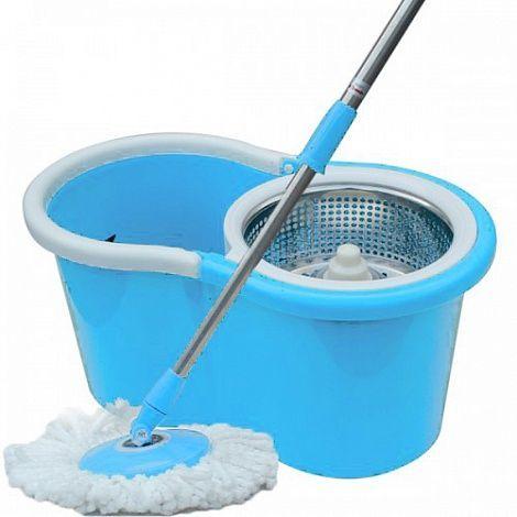 Универсальная швабра с отжимом Keya Easy Mop (Spin and Go, Спин энд Го 2, центрифуга), синяя, для уборки дома в квартиреШвабры с отжимом<br>Универсальная швабра с отжимом Keya Easy Mop (Spin and Go 2, стальная центрифуга), синяя<br><br> <br><br><br>Купив швабру с отжимом Keya Easy Mop, вы сможете избавиться от потребности самостоятельно отжимать насадки швабры. Сейчас это можно делать без помощи рук при помощи Easy Mop. Корзина может совершать до 2600 оборотов в минуту и хорошо отжимает швабру с насадкой из микрофибры.<br><br><br> <br><br><br>Швабра с отжимом и ведром Изи Моп, поможет в 3 раза ускорить уборку у вас дома, при этом руки всегда останутся чистыми, а микрофибровая насадка от швабры не оставляет разводов и ворсинок на полу<br><br><br> <br><br>Особенности швабры:<br> <br><br> <br><br><br> <br><br><br>- На 180 градусов вращается головка швабры для более тщательного выполаскивания насадки, а так же её просушки<br><br><br> <br><br><br> <br><br><br> <br><br>  <br><br> <br><br><br>- Лёгкому отжиму и полосканию насадки из микрофибры способствует телескопическая ручка швабры<br><br><br><br> <br><br><br> <br><br><br> <br><br><br><br><br> <br><br><br><br><br> <br><br><br> <br><br><br>- Материал швабры и ведра очень лёгкий, так как сделан из высококачественного пластика и сплава лёгких металлов, что позволяет легко справляться с перемещением ведра даже детям<br><br><br> <br><br><br> <br><br><br> <br><br><br><br><br><br> <br><br><br> <br><br><br> - Система полоскания и отжима встроена в ведро, что экономит время на уборку как минимум в 2 раза<br><br><br> <br><br><br> <br><br><br> <br><br><br><br><br><br> <br><br><br> <br><br><br>- Насадка из микрофибры впитывает влагу намного лучше любого другого материала, а так же более тщательно вымывает грязь<br><br><br> <br><br><br> <br><br>Как пользоваться?<br><br>- Установите круглую насадку<br><br><br>- Соберите швабру<br><br><br>- Для того, чтобы промыть насадку, нужно поместить её в центрифугу и двигать вверх-вниз. Центрифу
