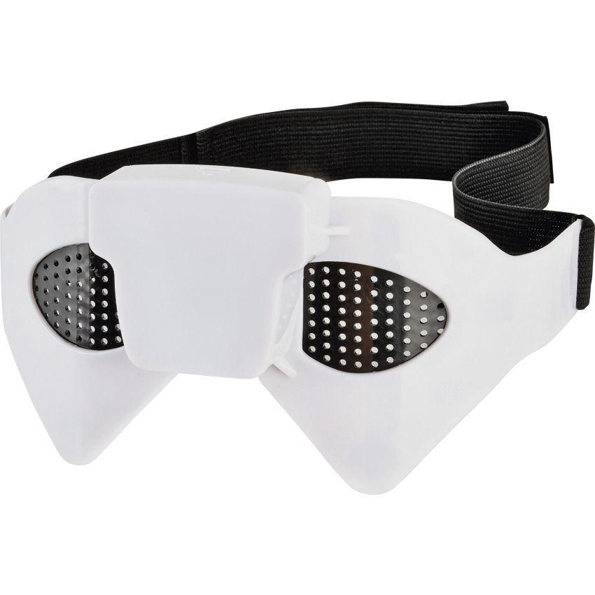 Очки - массажер для лица и глаз Bradex ВзорМассажеры для глаз<br>В современных реалиях каждый второй человек страдает нарушениями зрения. Каждый день мы подвергаем наши глаза сильной нагрузке при ежедневной работе с компьютером, просмотре телевизора, искусственном освещении. Современные дети и подростки ежедневно портят зрение за учебниками, часто при плохом, неправильном освещении, а также проводят много часов за компьютером, играя в видеоигры.<br> Для снятия напряжения с глаз можем порекомендовать Вам очки-массажер для глаз «ВЗОР» - уникальную разработку, позволяющую оказать эффективную  «скорую помощь» Вашим глазам.<br> Очки-массажер «ВЗОР» оказывают расслабляющий эффект на состояние глаз за счет комплексного воздействия. <br> Легкий массаж, производимый очками-массажёром, воздействует на область вокруг глаз, вследствие чего:<br><br>происходит общее улучшение кровообращения;<br>ускоряются восстановительные процессы при больших нагрузках на  органы зрения;<br>расслабляется мускулатура верхней части лица, вследствие чего повышается эластичность кожи в области глаз, разглаживаются морщины.<br><br> Очки-массажер работают от одной батарейки АА типа, что позволяет использовать их не только дома, но и в путешествии или на работе, не испытывая неудобств при подзарядке. <br> Подходят для использования как взрослыми, так и детьми!<br>Применение<br> Очки-массажер для глаз «ВЗОР» особо будут полезны тем, чья работа связана с большой нагрузкой на глаза: операторам ПК, водителям, летчикам, сборщикам, бухгалтерам, экономистам, учителям, офисным работникам. Незаменимы для детей, проводящих много времени за учебниками, перед компьютером и телевизором, за видеоиграми, а также для пожилых людей. <br> Способ применения: <br><br>Вставьте в очки-массажёр одну батарейку АА типа. <br>Рекомендуется откинуться на спинку стула или принять горизонтальное положение. <br>Закройте глаза и включите массажёр, переключив тумблер включения/выключения влево или вправо, выбрав комфортную для Вас инт