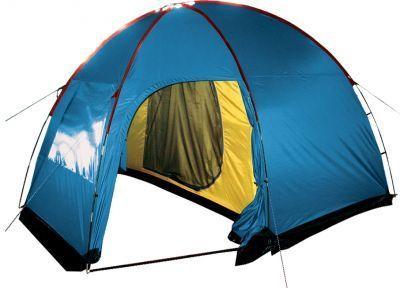 Палатка Sol Anchor 4 SLT-032.06 синийТуристические палатки<br>Палатка Sol Anchor 4 SLT-032.06 это двухслойная кемпинговая палатка с двумя входами и большим тамбуром.  Вход спального отеделения продублирован москитной сеткой. Тент палатки оборудован юбкой. Есть большое вентиляционное окно.<br>Характеристики:<br><br><br><br><br> Вес:<br><br><br> 8,9 кг.<br><br><br><br><br> Водонепроницаемость:<br><br><br> 3000 мм.<br><br><br><br><br> Все размеры:<br><br><br> внешняя палатка 360(Д)x260/170(Ш)x210(В) см, внутренняя палатка 220(Д)x240(Ш)x205(В) см<br><br><br><br><br> Высота:<br><br><br> 210/205 см.<br><br><br><br><br> Каркас:<br><br><br> фиберглас 11 мм.<br><br><br><br><br> Материал внутренний:<br><br><br> 100% дышащий полиэстер 68D/68D 190T<br><br><br><br><br> Материал пола:<br><br><br> армированный полиэтилен (tarpauling)<br><br><br><br><br> Материал внешний:<br><br><br> 100% Полиэстер 75D/190T WR PU 3000<br><br><br><br><br> Обработка швов:<br><br><br> проклеенные швы.<br><br><br><br><br> Особенности:<br><br><br> два входа, большое вентиляционное окно<br><br><br><br><br> упаковка габариты см:<br><br><br> 65*25*25<br><br><br><br><br>