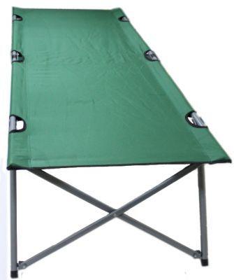 Кровать раскладушка туристическая Green Glade  M6185Кемпинговая мебель<br><br> Туристические раскладушки начинают пользоваться всё большим спросом. Ведь разве получится отдохнуть на природе среди ползающих насекомых или лежа на неровной или сырой земле. Выезжая на кемпинг или продолжительную рыбалку, захватите с собой раскладушку Green Glade M6185 и комфортный отдых Вам обеспечен!<br><br><br> Эту складная кровать сделана из прочного стального каркаса и выдерживает нагрузку до 100 кг. В собранном виде раскладушка для рыбалкиимеет компактные размеры и помещается в чехол с лямкой для переноски. Green Glade M6185 поможет организовать удобное спальное место не только рыбакам, охотникам и туристам. Раскладушка станет прекрасным вариантом для ночевки  Ваших гостей на даче или в квартире, если там нет лишней стационарной кровати.<br><br><br> Останавливая свой выбор на раскладушке для рыбалки Green Glade M6185, Вы можете быть уверены, что отлично проведете время на свежем воздухе!<br><br>Характеристики<br><br><br><br><br> Max вес пользователя:<br><br><br> 100 кг.<br><br><br><br><br> Вес:<br><br><br> 7,8 кг.<br><br><br><br><br> Все размеры:<br><br><br> 193*66 см.<br><br><br><br><br> Высота:<br><br><br> 45,8 см.<br><br><br><br><br> Гарантия:<br><br><br> 6 месяцев.<br><br><br><br><br> Каркас:<br><br><br> сталь 22/16/16*25 мм.<br><br><br><br><br> Материал:<br><br><br> полиэстер 600D с поливиниловым покрытием.<br><br><br><br><br> упаковка габариты см:<br><br><br> 99*14*14<br><br><br><br><br>