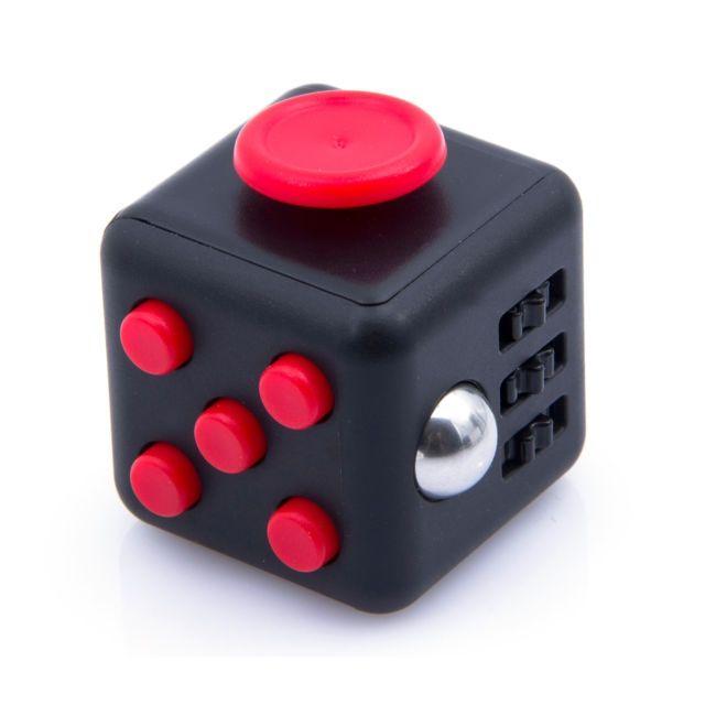 Кубик-антистресс Fidget Cube черный-красныйКубики Антистресс Fidget Cube<br>Кубик-антистресс Fidget Cube (Фиджет Куб) черный-красный<br> <br>Каждый человек хотя бы раз в жизни испытывал состояние напряжения и бесконтрольной двигательной активности. Вы тоже клацаете ручкой на важном совещании или «хрустите» пальцами в стрессовые моменты? Стоит купить антистрессовый кубик Fidget Cube черный-красный и ваше поведение перестанет раздражать окружающих. Это замечательное приспособление как раз создано для того, чтобы расслабиться в сложные моменты или сосредоточить внимание, когда это необходимо. Кубик-антистресс имеет миниатюрные размеры и не займет много места в вашем кармане.<br>   <br>Кому нужен кубик-антистресс<br> <br>Давно известно, что тренировка мелкой моторики рук способствует развитию головного мозга как у детей, так и у взрослых. Но если малыши могут удовлетворить эту природную потребность, играя с мелкими игрушками или перебирая пуговицы, то у взрослых дела обстоят сложнее. Для них настоящим спасением является кубик антистресс Fidget Cube черный-красный, по отзывам пользователей являющийся просто идеальным решением.<br> <br>Стильный и недорогой Fidget Cube просто создан для тех, кто:<br> <br> <br>  регулярно грызет колпачки ручек и карандаши;<br> <br>  «клацает» кнопочными ручками;<br> <br>  звенит монетками в кармане;<br> <br>  дергает ногой или «хрустит» пальцами;<br> <br>  постоянно вертит в руках небольшие предметы;<br> <br>  производит любые другие неконтролируемые манипуляции, раздражающие окружающих.<br> <br> <br>По отзывам тех, кто уже испробовал на себе это замечательное устройство, кубик антистресс Fidget Cube моментально успокаивает после сильного стресса и помогает сосредоточиться в момент принятия важного решения. <br> <br>Еще один немаловажный момент заключается в том, что Fidget Cube стоит дешево. Его цена по карману даже самому отчаянному скряге.<br>  <br>  <br>  <br>Что такое Fidget Cube<br> <br>Антистрессовый кубик «Фиджет Кьюб» имеет 6 сторо
