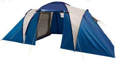 Палатка Trek Planet Toledo Twin 6 (70118)Туристические палатки<br>Особенности:<br> Тент палатки из полиэстера с пропиткой PU, надежно защитит от дождя и ветра,<br> Все швы проклеены,<br> Удобная D-образная дверь на входе во внутреннюю палатку,<br> Внутренние карманы для мелочей,<br> Возможность подвески фонаря в палатке.<br> Внутренняя палатка, выполненная из дышащего полиэстера, обеспечивает вентиляцию помещения и позволяет конденсату испаряться, не проникая внутрь палатки,<br> Каркас выполнен из прочного стеклопластика,<br> - Дно из прочного водонепроницаемого армированного полиэтилена позволяет устанавливать палатку на жесткой траве, песчаной поверхности, глине и т.д.<br>Характеристики:<br><br><br><br><br> Вес:<br><br><br> 10,5 кг.<br><br><br><br><br> Водонепроницаемость:<br><br><br> Тент 2000 мм, дно 10000 мм.<br><br><br><br><br> Все размеры:<br><br><br> Внешняя палатка 590(Д)x240(Ш)x200(В) см, внутренняя палатка 215(Д)x195(Ш)x155(В) см.<br><br><br><br><br> Высота:<br><br><br> 200 см.<br><br><br><br><br> Каркас:<br><br><br> фиберглас 9,5 мм.<br><br><br><br><br> Материал внутренний:<br><br><br> 100% дышащий полиэстер.<br><br><br><br><br> Материал пола:<br><br><br> армированный полиэтилен (tarpauling).<br><br><br><br><br> Материал внешний:<br><br><br> 100% полиэстер, пропитка PU.<br><br><br><br><br> Обработка швов:<br><br><br> проклеенные швы.<br><br><br><br><br> упаковка габариты см:<br><br><br> 68*23*23<br><br><br><br><br>