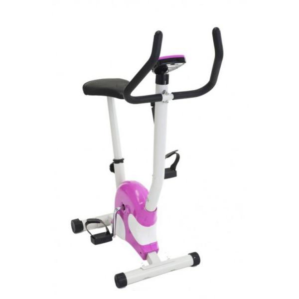 Велотренажер Сплэш (Exercise Bicycle), Bradex (Брадекс), для занятия спортом дома, для укрепления мышц бедер и ягодицВелотренажеры<br>Велотренажер Bradex Сплэш (Exercise Bicycle)<br>  <br>Точеная мускулатура ног, выносливость и общий тонус всему организму – все это можно получить, даже не выходя из дома. Велотренажер Bradex Сплэш (Exercise Bicycle) – компактный, стильный и очень эффективный снаряд, который поможет вам быстро привести свое тело в идеальную форму. Если у вас нет времени, желания или возможности ходить в тренажерный зал – купите домой велотренажер Брадекс и крутите педали в комфортной домашней обстановке – под любимую музыку или в тишине и спокойствии. Непогода, холод или позднее время суток – теперь не повод для отмазки!<br> <br><br> <br><br> <br><br> <br><br> <br><br> <br>Особенности велотренажер Bradex<br> <br>Велотренажер Bradex Сплэш – это легкое и компактное устройство, оборудованное бортовым компьютером. Прочные материалы, удобная конструкция и качество исполнения тренажера позволят вам наслаждаться тренировками и поправлять свое здоровье легко и непринужденно. Несколько уровней захвата руля, надежные крепления для стопы, удобное регулируемое сидение и стильный дизайн выгодно отличают велотренажер среди других приборов.<br> <br>Велотренажер Bradex Сплэш заслуживает только положительные отзывы. Регулярные занятия на нем помогут вам подтянуть свое тело, повысить тонус, натренировать мышцы ног и ягодиц. После тренировок вы почувствуете приятную усталость и гордость за проделанную работу над собой. Кроме того, велотренажер – эффективный кардиостимулятор и недорогой способ похудеть – в зависимости от нагрузок, которые вы себе задаете при занятиях.<br><br><br> <br>Польза занятий на велотренажере Bradex Сплэш<br> <br> <br>  повышает общий тонус организма;<br> <br>  укрепляет мускулатуру тела, особенно ног, икр, бедер и ягодиц;<br> <br>  тренирует подвижность связок и суставов;<br> <br>  оказывает стимулирующее влияние на сердечно-сосудистую систему;<br