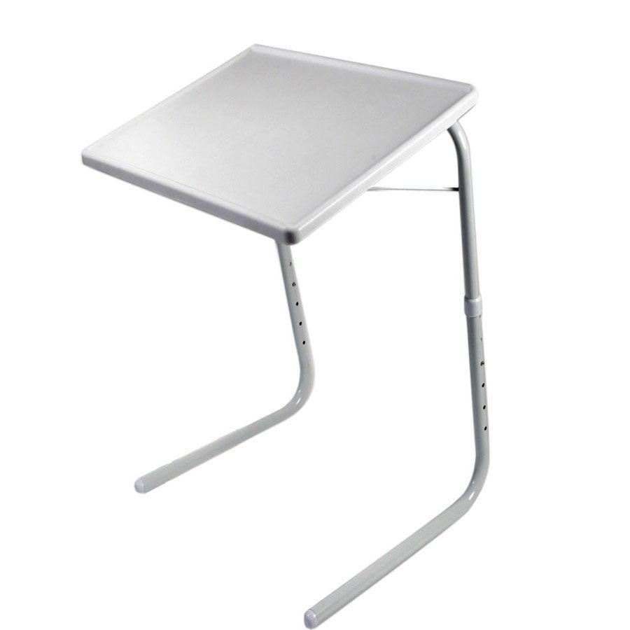 Универсальный складной столик Table Mate 2 (Тейбл Мейт), для пикника, для рыбалки и ноутбукаСтолики для ноутбука<br>Многие люди на себе ощутили прелести жизни в малогабаритных квартирах. Небольшой метраж не позволяет разместить в комнате необходимое количество мебели. Поэтому чаще всего многие предметы быта в таких квартирах имеют сразу несколько функций. Особенно это касается стола. Это предмет мебели нужен всем членам семьи, причем одновременно:<br><br><br>ребенку нужно учить уроки; <br>мама спешит приготовить ужин; <br>папа торопится закончить доклад или скоротать вечер за любимой компьютерной игрой; <br>дедушка собирает модель парусника, а бабушка занялась рукодельем. <br><br><br><br> Не правда ли, знакомая картина? И всем им просто необходимо свое рабочее место. Что же делать? Ответ очень прост: Table Mate и проблема исчезнет сама собой. Это великолепный столик-раскладушка стоит дешево, занимает очень мало места и способен обеспечить вам рабочее место там, где его не хватает. Столик имеет целых 18 положений регулировки: 6 по высоте и 3 по уровню наклона рабочей поверхности. Вы можете поставить его так, как вам удобно.<br><br><br> <br><br>Почему стоит приобрести<br><br><br>Идеальный выбор для тех, кто любит с комфортом разместиться в кресле или на диване. На нем легко можно разместить книги, корзинку с рукодельем или просто поужинать, уютно устроившись перед телевизором. <br><br>Идеален в качестве подставки под ноутбук. Его можно легко перенести в любое место вашей квартиры, включая балкон или террасу. <br><br>Можно использовать в качестве обычного журнального столика. Легкий и стильный и недорогой, он впишется в любой интерьер. <br><br>Буквально одним движением руки превращается в парту или столик для игр. Он легко регулируется по высоте и подойдет любому ребенку, а небольшой наклон столешницы позволит сохранить осанку вашего малыша. <br><br>Если кто-то из членов вашей семьи вынужден долгое время проводить в постели, также будет полезен. С его помощью можно сер