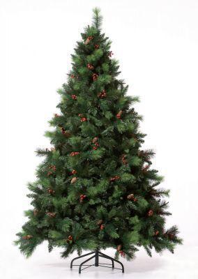 Ель Royal Christmas Phoenix шишки/ягоды 38210 (210 см)Елки искусственные<br>Как известно, ёлка - один из главных атрибутов Нового года. В преддверии зимних праздников появляется всё больше забот и хлопот. И искать каждый год живую ёлку за несколько дней до торжества совсем не удобно. Ель Royal Christmas поможет провести праздник в атмосфере настоящего волшебства. Очень красивые ёлки этого голландского производителя выглядят как живые. Они будут радовать как детей, так и взрослых. <br> Ели очень устойчивы. А простая и быстрая сборка новогоднего дерева не отнимет у Вас много времени.<br>Характеристики<br><br><br><br><br> Все размеры:<br><br><br> Диаметр: 152 см.<br><br><br><br><br> Высота:<br><br><br> 210 см.<br><br><br><br><br> Материал:<br><br><br> Микс PP/PVС (жёсткая хвоя)<br><br><br><br><br> Модель:<br><br><br> PHOENIX<br><br><br><br><br> Особенности:<br><br><br> Декоративные элементы: шишки // Количество веток: 1193<br><br><br><br><br> упаковка вес кг:<br><br><br> 17<br><br><br><br><br> упаковка габариты см:<br><br><br> 110*35*45<br><br><br><br><br> Цветовое исполнение:<br><br><br> зеленый (GN).<br><br><br><br><br>