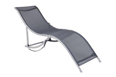 Шезлонг GOGARDEN RELAX 50303Кемпинговая мебель<br><br> Шезлонг GOGARDEN RELAX 50303 элегантного дизайна несомненно украсит террасу загородного дома, также будет отлично смотреться на газоне или у бассейна.  Анатомическая форма сиденья шезлонга обеспечивает прекрасную  поддержку спины и ног. Сиденье сделано из сетчатого материала TEXTILENE устойчивого к ультрафиолетовому излучению и образованию плесени. Благодаря своей структуре материал не впитывает влагу, быстро сохнет и очень простой в уходе. <br> Шезлонг можно хранить на открытом воздухе в течение всего сезона. <br> В сложенном состоянии не занимает много места, имеет удобную лямку для переноски.<br><br><br> - Элегантный дизайн<br> - Отличная поддержка спины и ног<br> - Лямка для переноски<br> - Материал имеет хорошую пространственную стабилизацию<br> - Защита от УФО<br> - Быстро сохнет<br> - В сложенном состоянии не занимает много места.<br><br>Характеристики<br><br><br><br><br> Max вес пользователя:<br><br><br> 120 кг<br><br><br><br><br> Вес:<br><br><br> 7,3 кг<br><br><br><br><br> Все размеры:<br><br><br> 172х56х67 см<br><br><br><br><br> Высота:<br><br><br> 67 см<br><br><br><br><br> Каркас:<br><br><br> 30/20 и 21/29 мм сталь с покрытием от царапин и коррозии<br><br><br><br><br> Материал:<br><br><br> TEXTILENE - прочный сетчатый материал стойкий к ультрафиолетовому излучению.<br><br><br><br><br> упаковка габариты см:<br><br><br> 110*60*25<br><br><br><br><br>