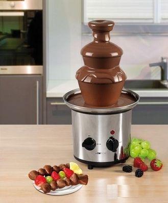 Шоколадный фонтан фондю Chocolate Fondue Fountain, домашняя фондюшница сырная на праздник