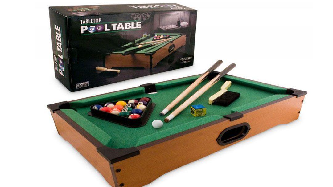 Настольный бильярд TableTop Table Pool D002 - 51x31x9.5см, игра для детей