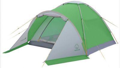 Палатка Greenell Моби 3 плюсТуристические палатки<br>Greenell Моби 3 плюс это легкая и компактная трехместная, однослойная палатка с небольшим тамбуром. Вентиляция на крыше под клапаном плюс большое вентиляционное окно напротив входа. В отличие от большинства аналогичных бюджетных палаток, у которых дно из армированного полиэтилена, палатка Моби имеет дно из полиэстера. Идеальна при частой смене лагеря (легко перемещать с места на место, а при необходимости можно закрепить с помощью штормовых оттяжек).<br>Характеристики:<br><br><br><br><br> Вес:<br><br><br> 2,5 кг.<br><br><br><br><br> Водонепроницаемость:<br><br><br> Тент 2000 мм, дно 3000 мм.<br><br><br><br><br> Все размеры:<br><br><br> общие 300(Д)x180(Ш)x120(В) см //спальное место 200(Д)x180(Ш)x120(В) см<br><br><br><br><br> Высота:<br><br><br> 120 см.<br><br><br><br><br> Каркас:<br><br><br> фиберглас 6,9/7,9 мм.<br><br><br><br><br> Материал пола:<br><br><br> Polyester 190T PU 3000<br><br><br><br><br> Материал внешний:<br><br><br> Polyester 190T PU 2000<br><br><br><br><br> Обработка швов:<br><br><br> проклеенные швы.<br><br><br><br><br> Особенности:<br><br><br> небольшой тамбур, противомоскитная сетка на входе в спальное отделение<br><br><br><br><br> упаковка габариты см:<br><br><br> 60*13*13<br><br><br><br><br>
