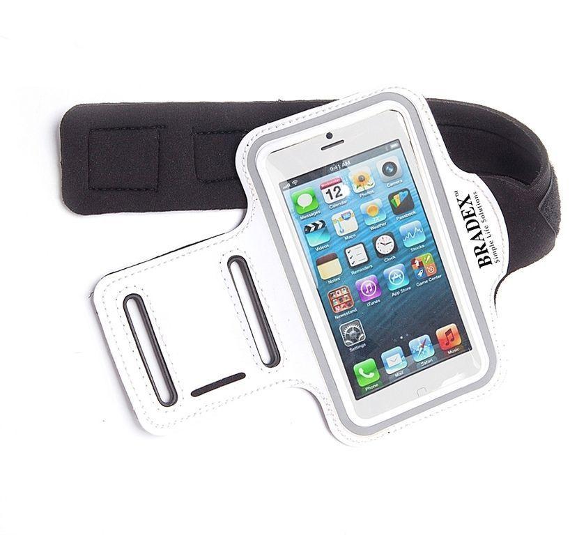 Чехол для телефона с креплением на руку Bradex (Брадекс), 140*80 ммЧехлы для телефонов<br>Чехол для телефона с креплением на руку Bradex, 140*80 мм<br> <br> <br>  <br> <br> <br>В наши дни для многих людей стали важной частью из жизни занятия фитнесом, спортом. А какие же пробежки, занятия в фитнесе или на тренировках в спортзале в отрыве от жизни? Поэтому Ваш смартфон всегда с Вами, и в этих ситуациях очень нужным аксессуаром для многих людей, ведущих активный образ жизни, будет специальный, спортивный чехол для телефона с креплением на руку. Чехол выполнен из сверхлегкого, моющегося неопрена. Надёжное приспособление снабжено универсальным креплением на липучке, поверхность - прозрачная пленка для легкого доступа или управления.<br> <br> <br>  <br> <br> <br><br>  <br><br><br>Особенности чехла:<br> <br>Совместим со всеми мобильными устройствами с размерами, не превышающими 140х80 мм<br> <br>Чехол сделан из сверхлегкого, легко моющегося неопрена<br> <br>Надежное приспособление для универсального крепления на липучке<br> <br>Прозрачная пленка для легкого доступа или управления<br> <br> <br>  <br> <br> <br>Для оптовых покупателей:<br> <br>Чтобы купить чехол для телефона с крепление на руку оптом, необходимо связаться с нашими операторами по телефонам, указанным на сайте. Вы сможете получить значительную скидку от розничной цены в зависимости от объема заказа.<br> <br>Для получения информации о покупке товаров посетите разделОптовых продаж<br>