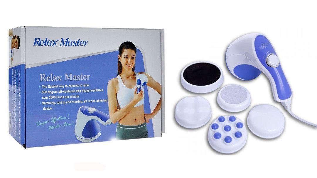 Массажер для тела Релакс (Relax and Spin Tone), Bradex (Брадекс)Ручные массажеры<br>Массажер для тела Bradex Релакс (Relax and Spin Tone)<br> <br> Рекомендуем так же посмотреть все массажеры для тела<br> <br> <br>  <br> Массажер Релакс энд Спин Тоне — это легкое и эффективное устройство, которое способно воздействовать на живот, ягодицы, бедра, ноги и руки. Необыкновенная вибрационная система этого устройства воздействует на глубокие слои кожи и расщепляет нежелательные жировые клетки, а также сжигает калории.<br> <br>Relax &amp;amp; Spin Tone удивительное устройство, которое способно обеспечить комплексную тренировку тела без тренировки. Просто обратите его к той зоне тела, форму которой хотите улучшить.<br> <br>Прибор эффективно удаляет излишнюю жировую прослойку, а также избавляет от целлюлита.<br> <br><br>    <br>  <br><br>Секрет массажера Релакс энд Спин Тоне<br> <br>Секрет кроется в уникальной конструкции массажера Релакс энд Спин Тоне - благодаря нему массажное устройство вибрирует со скоростью более чем 2 500 раз в минуту, проникая в глубокие слои кожи, расщепляя и уменьшая жировые клетки. Независимо от того, хотите ли вы улучшить конкретную часть тела, или преобразовать всю фигуру, просто пользуйтесь устройством Relax &amp;amp; Spin Tone десять минут в день, чтобы достичь удивительных результатов.<br> <br>Наряду с функцией уменьшения веса, прибор облегчает боли в спине и шее, улучшает кровообращение и массирует ваши ноги и ступни. Оно как ваш личный массажер делает вам глубокий массаж всего тела, освобождая от усталости и гармонизируя общее состояние.<br> <br> <br> <br> <br>  На каких местах можно пользоваться?<br> <br>   -Предплечья (придаем тонус мышцам верхней части руки)<br> <br>   -Плечи (облегчает напряжение, возникающее в шее и спине)<br> <br>   -Брюшной пресс (тонизирует мышцы брюшного пресса- у Вас становится более стройная талия)<br> <br>   -Бедра (придает тонус мышцам брюшного пресса и ягодичным мышцам)<br> <br>   -Верхняя часть бедра (снимает на