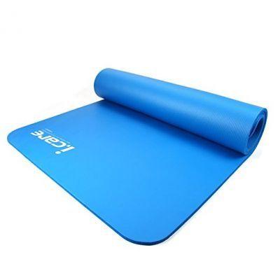 Коврик для фитнеса-йоги JOEREX (I CARE) JBD50551Товары для спорта<br><br> JOEREX (I CARE) JBD50551 это коврик для практики йоги, занятий фитнесом и аэробикой. Хорошее качество - приемлемая стоимость! Не скользящая поверхность, изготовлен из прочного материала (NBR). Для удобства оснащен специальными стяжками с ремнем для транспортировки через плечо, а также транспортировочным сетчатым чехлом с ремнем.<br><br><br> Коврик можно использовать для занятий в зале, на улице и даже на воде. Он удобно сворачивается и занимает мало места дома или в багажнике автомобиля.<br><br>Характеристики<br><br><br><br><br> Вес:<br><br><br> 1.1 кг.<br><br><br><br><br> Все размеры:<br><br><br> 185*80*1 см<br><br><br><br><br> Материал:<br><br><br> NBR<br><br><br><br><br> Особенности:<br><br><br> Нескользящая поверхность, стяжки с ремнем для переноски, сетчатый чехол с ремнем.<br><br><br><br><br> упаковка габариты см:<br><br><br> 82*17*17<br><br><br><br><br>