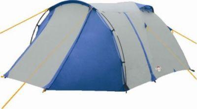 Палатка Campack Tent Breeze Explorer 4Туристические палатки<br>Современная палатка Campack Tent Breeze Explorer 4 подходит для несложных походов и семейного отдыха на природе. Конструкция позволяет использовать ее как весной, так и осенью. Отличается увеличенными размерами и функциональностью. Палатка Campack Tent Breeze Explorer 4 особенно удобна для любителей комфорта (имеет увеличенную высоту) и объемного багажа, который легко разместить в тамбуре площадью ~ 3.5 м2. Высокопрочное дно изготовлено из армированного полиэтилена, не пропускает влагу и устойчиво к истиранию. Каркас, изготовленный из фибергласса, обеспечивает надежность и устойчивость. Палатка Campack Tent Breeze Explorer 3 оснащена увеличенными вентиляционными окнами, клапаном от косого дождя и двухслойной дверью с цветными молниями. Измененное крепление третьей дуги, значительно облегчает установку палатки. Внутри палатки имеется подвеска для фонаря и карманы для хранения мелочей. Модель Breeze Explorer имеет три раздельных входа. Основной вход надежно защищен боковыми тентовыми «крыльями», которые предотвращают задувание холодного воздуха, при сильных порывах ветра. Проклеенные швы гарантируют герметичность и надежность в любой ситуации.<br>Характеристики:<br><br><br><br><br> Вес:<br><br><br> 5,64 кг.<br><br><br><br><br> Водонепроницаемость:<br><br><br> 3000 мм.<br><br><br><br><br> Все размеры:<br><br><br> Внешняя палатка 420(Д)x245(Ш)x145(В) см, внутренняя палатка 200(Д)x240(Ш)x140(В) см.<br><br><br><br><br> Высота:<br><br><br> 145 см.<br><br><br><br><br> Каркас:<br><br><br> фиберглас 8,5/9,5 мм.<br><br><br><br><br> Материал внутренний:<br><br><br> P. Taffeta 170T.<br><br><br><br><br> Материал пола:<br><br><br> армированный полиэтилен (tarpauling).<br><br><br><br><br> Материал внешний:<br><br><br> P. Taffeta 190T PU 3000 мм.<br><br><br><br><br> Обработка швов:<br><br><br> проклеенные швы.<br><br><br><br><br> упаковка габариты см:<br><br><br> 60*23*20<br><br><br><br><br>