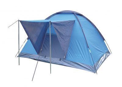 Палатка Green Glade Vero 3Туристические палатки<br><br> Недорогая однослойная палатка для непродолжительных выездов на природу в хорошую погоду в весенне-летний сезон. Хорошо подойдет как:<br><br><br>Фестивальная палатка.<br>Палатка для походов выходного дня.<br>Палатка для велопоходов, когда важен меньший вес и меньший размер.<br>Палатка для летней рыбалки с ночевкой.<br>Палатка для детских игр: дети обожают забираться в свой игровой домик.<br><br><br> Водостойкость тента 1000 мм, что вполне достаточно для защиты от дождя и ветра. Однако надо помнить, что швы в этой модели не проклеены, поэтому если Вы собираетесь в дождливую местность, то лучше выберите палатку подороже с проклеенными швами.<br><br><br> Это достаточно легкая палатка. Ее можно очень просто установить буквально за 3-5 минут.<br><br><br> Дно палатки полностью водонепроницаемо и сделано из прочного армированного полиэтилена.<br><br><br> Входная дверь в палатку состоит частично из глухого полона и на 1/3 из москитной сетки, которая дублируется глухим полотном, и застегивается на молнию.<br><br><br> Вентиляция осуществляется через вентеляционное окно на куполе палатки, которое сверху прикрывается от дождя водонепроницаемым полотном, и через москитную сетку на входной двери.<br><br><br> Козырек (высота 90 см, ширина 70 см) на выносных стойках очень пригодится Вам в дождливую погоду, т.к. не позволит дождю попадать на полотно, закрывающее вход в палатку. Для лучшей вентиляции в дождливую погоду Вы можете оставить на входе только одну москитную сетку, не закрывая ее глухой стенкой, и козырек не даст воде попасть внутрь палатки.<br><br><br> Внутри палатки по бокам есть три кармашка для мелочей.<br>  <br><br><br> Назначение: фестивальная палатка, для походов выходного дня.<br><br>Характеристики:<br><br><br><br><br><br><br> Вес:<br><br><br> 2,6 кг.<br><br><br><br><br> Водонепроницаемость:<br><br><br> 1000 мм.<br><br><br><br><br> Все размеры:<br><br><br> 200(Д)x180(Ш)x120(В) см.<br><br><br><br><br> Высота:<br>