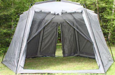 Тент-шатер Campack Tent G-3601W (со стенками)Тенты-шатры Campack<br><br> ПОДАРОК - КОМПЛЕКТ ЗАПАСНЫХ СОЕДИНИТЕЛЬНЫХ КРЕПЛЕНИЙ НА СЛУЧАЙ УТЕРИ !!!<br><br><br> В этом шатре площадью 11,8 кв. м. комфортно разместится 13 человек.<br><br><br> Тент-шатер Campack Tent G-3601W является самой популярной моделью из всех туристических шатров <br><br><br> Вместительный и простой в установке тент Campack Tent G 3601W станет центральным местом вашего туристического лагеря. <br><br><br> Два входа напротив друг друга обеспечивают комфортное использование, а москитные сетки на всех стенках защитят от назойливых летающих насекомых.<br><br><br> Тент имеет ветрозащитную юбку.<br><br><br> Ветро-влагозащитные полотна на всех стенах можно поднимать и опускать. <br><br><br> Швы крыши проклеены, материал тента имеет водонепроницаемую пропитку с индексом 3000 мм. водяного столба, которая защитит от дождя.<br><br><br><br><br> Часто такие шатры используют как тент над бассейном, чтобы туда не попадал мусор, листва, а также чтобы защититься от солнца, а может даже и дождя. А шатры с москитными сетками еще и прекрасно защитят купальщиков от насекомых.<br> В этом шатре, диаметр вписанной окружности которого 3,7 м, вы сможете разместить круглый бассейн диаметром не более 3,3 м.<br><br>Характеристики:<br><br><br><br><br><br><br> Вес:<br><br><br> 13 кг.<br><br><br><br><br> Водонепроницаемость:<br><br><br> 3000 мм.<br><br><br><br><br> Все размеры:<br><br><br> Диаметр вписанной окружности 3,7 х 2,18(В) м. Стенка 1,47(Ш) м. Площадь - 11,8 кв. м.<br><br><br><br><br> Высота:<br><br><br> 1,78 м / 2,18 м.<br><br><br><br><br> Каркас:<br><br><br> Сталь 19 мм с матовым покрытием.<br><br><br><br><br> Материал:<br><br><br> 190 T Taffeta.<br><br><br><br><br> Обработка швов:<br><br><br> швы крыши проклеены.<br><br><br><br><br> Особенности:<br><br><br> С ветро-влагозащитными полотнами, 2 входа на молнии, противомоскитная сетка.<br><br><br><br><br> упаковка габариты см:<br><br><br> 97*22*22<br><br><br><br><br>