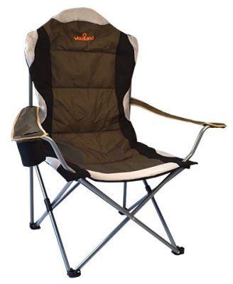 Кресло Woodland Deluxe, складное, кемпинговое,  63 x 63 x 110 см (сталь) CK-009Кемпинговая мебель<br><br> Складное кресло Woodland Deluxe предназначено для создания комфортных условий в туристических походах, охоте, рыбалке и кемпинге. <br><br><br> <br><br><br><br><br>Компактная складная конструкция.<br><br>Прочный стальной каркас, диаметром 18 мм, с покрытием.<br><br>Удобные подлокотники с отделением для напитка.<br><br>Водоотталкивающее ПВХ покрытие ткани Oxford 600D.<br><br>Максимально допустимая нагрузка 120 кг.<br><br>В комплекте чехол для перевозки.<br><br><br><br>Характеристики<br><br><br><br><br> Max вес пользователя:<br><br><br> 120 кг.<br><br><br><br><br> Вес:<br><br><br> 3,6 кг.<br><br><br><br><br> Все размеры:<br><br><br> 110*63*63 см<br><br><br><br><br> Гарантия:<br><br><br> 6 месяцев.<br><br><br><br><br> Каркас:<br><br><br> Стальной каркас, диаметром 18 мм, с покрытием.<br><br><br><br><br> Материал:<br><br><br> Водоотталкивающее ПВХ покрытие ткани Oxford 600D.<br><br><br><br><br> упаковка габариты см:<br><br><br> 90*20*20<br><br><br><br><br>