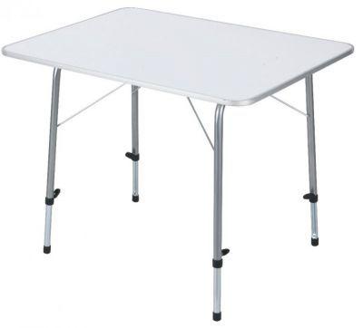 Складной стол TREK PLANET Picnic 120 с телескопическими ножками White (70662)Кемпинговая мебель<br><br> Складной, очень прочный стол TREK PLANET Picnic 120 с телескопическими ножками предназначен для отдыха на природе. Благодаря индивидуально регулируемым по высоте ножкам установить его легко на любой, даже самой неровной, поверхности.<br> Бренд TREK PLANET прекрасно зарекомендовал себя на рынке, предлагая широкий ассортимент товаров для туризма и отдыха отличного качества.<br><br><br>Каждая ножка индивидуально регулируется<br>Можно ровно поставить стол на любой поверхности<br>Столешница из огнеупорного пластика<br>Плоско складывается<br>Не занимает много места<br><br>Характеристики<br><br><br><br><br> Max вес пользователя:<br><br><br> 30 кг.<br><br><br><br><br> Вес:<br><br><br> 9,3 кг<br><br><br><br><br> Все размеры:<br><br><br> 120*60*50/69 см<br><br><br><br><br> Гарантия:<br><br><br> 6 месяцев.<br><br><br><br><br> Каркас:<br><br><br> 22/19 сталь<br><br><br><br><br> Материал:<br><br><br> огнеупорный пластик (до 140 С).<br><br><br><br><br> Особенности:<br><br><br> Телескопические ножки.<br><br><br><br><br> упаковка габариты см:<br><br><br> 120*60*10<br><br><br><br><br>