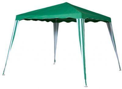 Садовый тент шатер Green Glade 1082Тенты Шатры<br><br> В этом шатре площадью 9 кв. м. комфортно разместится 10 человек.<br><br><br> Отправляясь отдыхать на природу, захватите с собой Тент-шатер Green Glade 1082. Он превосходно защищает от жаркого солнца и неприятного дождя. Тент быстро и легко устанавливается на любой территории, а его демонтаж также не отнимет у Вас много времени. С тентом шатром Green Glade 1082 Ваш отдых на природе, безусловно, станет более приятным и комфортным. <br> <br> Тент шатер Green Glade идеально подходит для отдыха за городом, возьмите его на пикник или шашлыки и Вы больше не будете зависеть от капризов природы. Небольшой вес и компактные размеры позволяют тент шатер во время автопутешествий и кемпингового отдыха. Также тент шатер Green Glade 1082 может использоваться для летнего кафе или передвижных торговых точек. <br> <br> Особенно хотелось бы отметить, что тент шатер Green Glade 1082 приобрел популярность именно как дачный тент. Благодаря стильному дизайну тент реально украсит Ваш загородный участок. С его помощью Вы легко создадите уютную зону отдыха и сможете устраивать вкусные обеды на открытом воздухе. Если у Вас есть дети, они сразу «захватят» для всевозможных игр, а Вы сможете не волноваться, что они играют под ярким солнцем. :)<br><br> Особенности использования<br> Тент шатер Green Glade 1082 имеет прочный металлический каркас из металлической трубки 19x19x25 мм. Тент выполнен в виде квадрата с наклонными стенками (снизу 300x300 см, сверху 240x240) и высотой 250 см. Покрытие тента полиэстер с водонепроницаемым покрытием плотностью 140 г/м.кв. <br> <br> Основные преимущества тента шатра Green Glade 1082:<br><br>Обеспечивает комфортные условия для отдыха на природе<br>Приятная контрастная расцветка<br>Можно использовать на даче и на природе<br>Подходит для выставок<br>Защищает от солнца и дождя<br>Прочный металлический каркас<br>Небольшой вес<br>Легко собирается и разбирается<br>Удобно перевозить в машине<br><br><br> Часто такие
