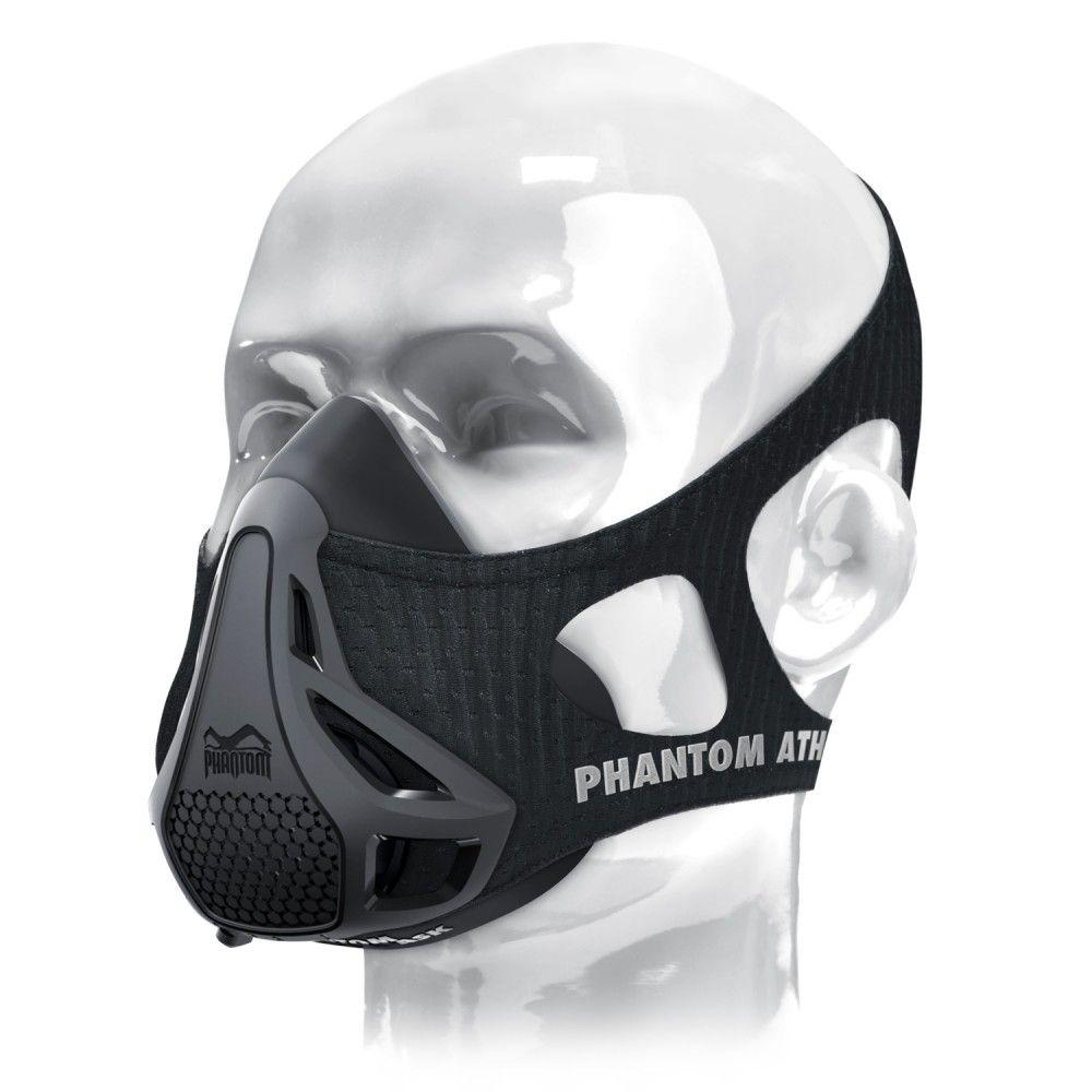 Тренировочная маска Phantom Training Mask (размер M), (Фантом), для ограничения дыхания и выносливостиТренировочные маски<br>Тренировочная маска Phantom Training Mask (размер M)<br> <br> <br>  <br> <br> <br> <br>  Тренировочная маска Phantom это тренажер, который помогает тренировать развивать ваши мышцы, она полезна практически для любого вида спорта. Процесс дыхания имеет важное значение для любого вида физической активности, тем не менее, мы не фокусируем на этом должного внимания. Все меняется с маской Phantom Training. Маска Фантом обращает внимание на вашем дыхание, регулируя подачу воздуха во время тренировки.<br> <br>   <br>    <br>   <br> <br>  The Phantom Training Mask оборудована запатентованной системой PRS (Phantom Regulation System), которая позволяет легко переключать уровни сопротивления во время тренировки, не снимая маску. PRS предлагает четыре уровня сопротивления, от начального до экстримального, чтобы постоянно совершенствовать свои результаты. Возможность имитировать тренировки на высотах: 900, 1800, 2700, 3600 метров.<br> <br>   <br>    <br>   <br> <br>   <br>    <br>   <br> <br>   <br>    <br>   <br> <br>  Из чего состоит?<br> <br>  Основа маски сделана из медицинского силикона, который уменьшает риск аллергических реакций и раздражения кожи. Более того, использование данного материала гарантирует плотное прилегание к лицу, тем самым обеспечивая комфорт во время тренировки.<br> <br>  Рукав маски сделан из чрезвычайно эластичного материала, который плотно прилегает к вашей голове и не спадает во время тренировки благодаря ремешку над головой, что обеспечивает оптимальный комфорт.<br> <br>   <br>    <br>   <br> <br>  Преимущества маски Phantom:<br> <br>  Воспользовавшись маской Phantom Training, можно ограничивать подачу воздуха во время тренировок. Процесс получения воздуха станет сложнее, что будет способствовать тренировке дыхательных мышц. Аксессуар очень востребован среди людей, вовлеченных в спорт, поскольку позволяет стать выносливее, бы