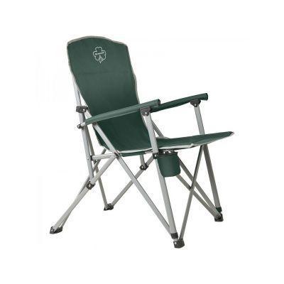 Кресло алюминиевое складное Greenell FC-7 V2 (95983-325-00)Кемпинговая мебель<br><br> Глубокое устойчивое кресло Greenell FC-7 V2. Почти прямая спинка, подлокотники отделаны мягким материалом. Задние ножки находятся вынесены далеко за спинку, поэтому кресло очень устойчивое, в него легко сесть и с него легко встать. Оно не наклонится, не запрокинется назад.<br><br><br> Подстаканничек приделан к правой ножке.<br><br><br> Толстый стальной каркас выдержит нагрузку до 150 кг.<br><br>Характеристики<br><br><br><br><br> Max вес пользователя:<br><br><br> 150 кг<br><br><br><br><br> Вес:<br><br><br> 4,4 кг.<br><br><br><br><br> Все размеры:<br><br><br> 59/53*83*46/95 см<br><br><br><br><br> Высота:<br><br><br> 46/95 см<br><br><br><br><br> Каркас:<br><br><br> сталь 22 мм.<br><br><br><br><br> Материал:<br><br><br> Polyester 600D PVC<br><br><br><br><br> упаковка габариты см:<br><br><br> 98*16*12<br><br><br><br><br>