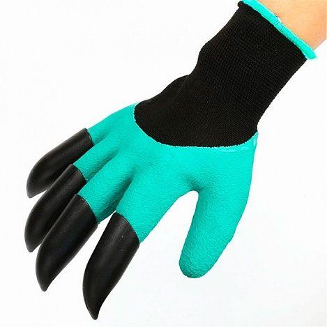 Садовые перчатки Garden Genie GlovesТовары для дома и дачи<br><br> У вас есть приусадебный участок? Вы любите выращивать натуральные и безопасные овощи и фрукты на своем огороде, но ваши руки в процессе выглядят плачевно? Устали таскать за собой садовый инструмент?<br><br><br> Если все эти вопросы для вас актуальны, то не менее актуальным будет и наше предложение. Garden Genie Gloves — садовые перчатки,  заниматься садовыми работами с радостью.<br><br><br> Отзывы покупателей отмечают высокую прочность и удобство пользования такими перчатками во время работы.<br><br><br> <br><br>Особенности<br><br> Уникальные недорогие чудо перчатки станут настоящей находкой для тех, кто не мыслит своей жизни без работы в саду, на грядке или цветочной клумбе. Они невероятно удобны и имеют особую форму, благодаря чему могут заменять собой даже некоторый садовый инструмент.<br><br><br> Garden Genie Gloves снабжены специальными наконечниками на правой перчатке, которые позволяют обойтись без тяпки и грабель во время садово-полевых работ. Отзывы некоторых покупателей, утверждают, что в некоторых случаях они им смогли заменить даже лопату!<br><br><br> С перчатками вы легко и быстро посадите в землю семена и саженцы, разрыхлив перед этим грядки, а также сможете окучить растения, когда для этого придет время. И все это без громоздкого и тяжелого садового инвентаря.<br><br><br><br><br> <br><br><br><br><br> Перчатки с когтями выглядят немного необычно, когда вы видите их в первый раз. Но стоит только надеть на руку и вы поймете, как они удобны и многофункциональны. Наконечники-когти сделаны из сверхпрочного пластика, так что вы можете не боятья, что они сломаются в процессе работы.<br><br><br> Помимо практической стороны использования, есть и эстетическая составляющая. Они надежно сохраняют ваши руки в процессе работ от порезов, волдырей и даже банального загрязнения, так как выполнены из сверхпрочного материала, в состав которого входит даже натуральный латекс. Они не парят руки, так как мат