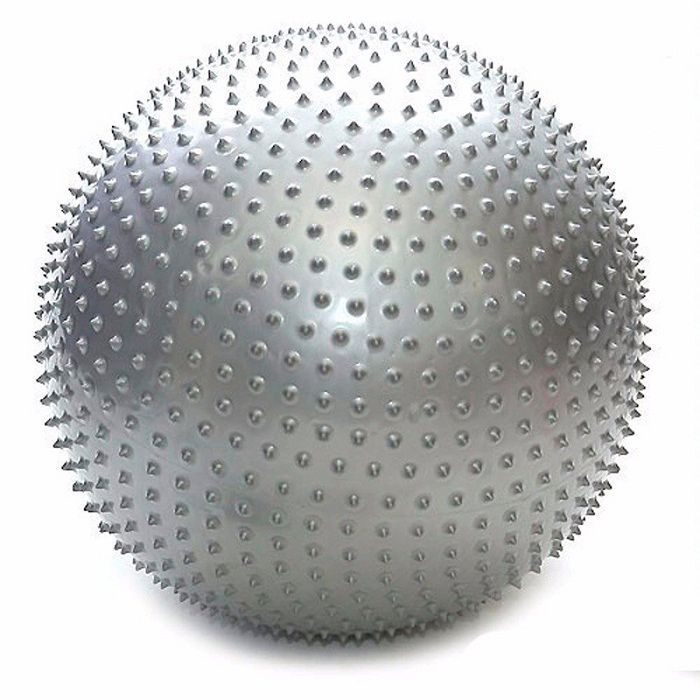 Мяч массажный Massage Ball 65 см с насосомФитболы<br>Могут ли занятия спортом быть одновременно эффективными и приятными?<br><br><br><br> Могут - вместе с мячом массажным Massage Ball 65 см с насосом!<br><br><br><br><br> Основная функция мяча – снятие нежелательной нагрузки с позвоночника и разгрузка суставов. Массажные элементы на мяче при перекатывании по телу воздействуют на нервные окончания, увеличивают приток крови и активизируют кровообращение. Занятия с мячом позволят Вам укрепить мышцы пресса, бёдер, ног при максимальном комфорте. Мяч изготовлен из высококачественного прочного материала и укомплектован насосом. <br><br>Преимущества мяча<br> <br><br><br><br><br><br> Массажные элементы по всей поверхности   <br><br> <br><br><br> Насос в комплекте   <br><br> <br><br><br> Прочный материал<br><br> <br><br>Способ применения<br><br> С помощью насоса накачайте мяч. Приступайте к занятиям. Если у Вас имеются какие-либо серьёзные болезни, перед началом тренировок проконсультируйтесь с врачом. Не используйте мяч вне помещений.<br><br><br> Мяч массажный Massage Ball 65 см с насосом - залог Вашего здоровья и отличного настроения!<br><br>Характеристики<br><br>Цвет: в ассортименте. Выбор конкретных цветов не предоставляется.<br><br>Вес в упаковке: 1 кг<br><br>Вес без упаковки: 900 гр.<br><br>Размер упаковки: 21,5*12,5*21,5 см<br><br>Диаметр: 65 см<br><br>Комплектация<br><br>Мяч массажный - 1 шт.<br><br>Насос - 1 шт.<br><br>Затычка - 1 шт.<br><br>Оригинальная англоязычная упаковка с русской наклейкой со штрих-кодом<br><br> <br>