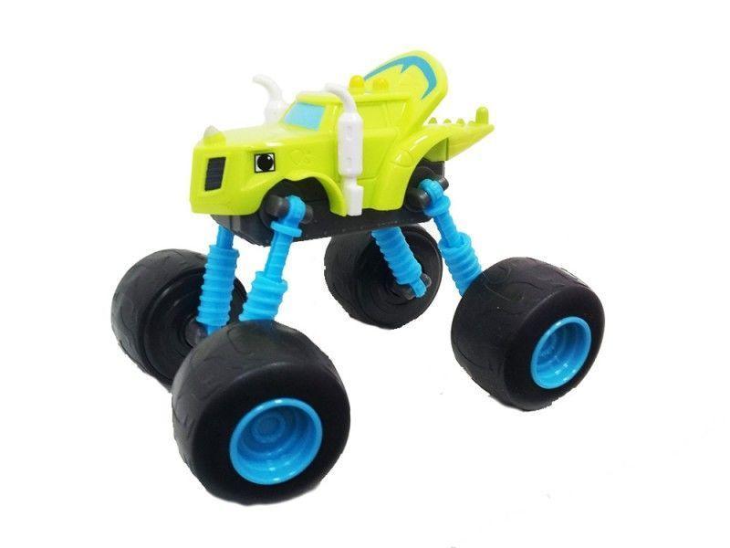 Чудо-машинка Вспыш Зег с гнущимися и вращающимися на 360 градусов колесами, игрушка для детей из мульфильмаМашинки Вспыш<br>Чудо-машинка Вспыш Зег с гнущимися и вращающимися на 360 градусов колесами<br> <br> <br>  <br> <br> <br>Машинка Зег изготовлена из прочных материалов, поэтому ей не страшны ни удары, ни падение, ни неаккуратное обращение детей. Игрушка сохранит свои качества и красоту при любых обстоятельствах. Поверхность машинки Вспыш поддается простому уходу. В конструкции игрушки отсутствуют съемные мелкие части, которые могут быть небезопасны для малышей.<br> <br> <br>  <br> <br> <br>Чудо-машинка Вспыш Зег, не смотря на свою прочность, имеет легкий вес и удобные для игры размеры. Катание по полу, запуск машинки в гоночном соревновании позволяет ребенку развить мелкую моторику и координацию движений. Игра с чудо-машинкой заставляет ребенка постоянно находиться в движении, что окажет положительное влияние на физическое развитие.<br> <br> <br>  <br> <br> <br>Характеристики:<br> <br>Размер: 140х90х110 мм (ДхШхВ)<br> <br> <br>  <br> <br> <br>Для оптовых покупателей:<br> <br>Чтобы купить машинку Вспыш Зег оптом, необходимо связаться с нашими операторами по телефонам, указанным на сайте. Вы сможете получить значительную скидку от розничной цены в зависимости от объема заказа.<br> <br>Для получения информации о покупке товаров посетите разделОптовых продаж<br>