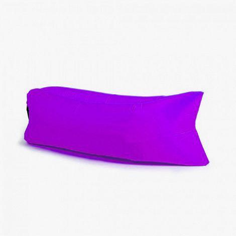 Надувной диван - лежак Ламзак (гамак, LAMZAC) фиолетовый, надувной лежак, диван (мешок) для природыНадувные диваны Лазмак (LAMZAC) <br>Надувной диван - лежак Ламзак (гамак, LAMZAC) фиолетовый<br><br>  <br><br>   Смотрите также - другие цвета LAMZAC<br><br>  <br><br><br> Любите путешествовать с друзьями и расслабляться на пляже? Везде носить с собой складные стулья, шезлонги и покрывала, это утомительно и тяжело. Лучшим решением будет мягкий надувной диван, это оригинальное решение, его можно взять с собой куда угодно.<br><br><br> <br><br>  <br> Что это?<br><br> Lamzac - надувной гамак (лежак, диван). Как его не назови, он всё равно лучше. Захотелось вальяжно развалиться там, где вы не могли позволить себе этого раньше? Хотите прилечь отдохнуть? 15 секунд - и в вашем распоряжении роскошное удобство. Где угодно и когда угодно. Главное - не забыть прихватить диван с собой.<br><br>  <br> Быстро и просто<br>  <br><br> Надувной диван сверхкомпактный и умещается в небольшую наплечную сумку. Чтобы собрать лежак, достаньте его из сумки, распрямите и зачерпните воздух. Звучит странно, но именно так всё и выглядит. После этого закройте воздушные клапаны и расслабьтесь на гамаке.<br><br> <br><br> Пару взмахов и диван готов к эксплуатации.<br><br> <br><br> Еще мгновение, и вы уже отдыхаете!<br><br><br>  <br><br> Дизайн<br><br> На вид Ламзак немного похож на кресло-мешок, которое вытянули по горизонтали. Все надувные диваны сшиты из парашютного шёлка, так что за прочность мебели можно не беспокоиться. И да, наши диваны - унисекс.<br><br><br>  <br><br> Возьми с собой!<br><br> - На пляж<br><br><br> - В парк <br><br><br> - На пикник или в поход<br><br><br> - На горонолыжный склон <br><br><br> - На рыбалку или охоту<br><br><br> - В летний кинотеатр <br><br><br> - На фестиваль под открытым небом <br><br><br> - На дачу<br><br><br> <br><br><br>  <br><br> Можно использовать на любой поверхности<br><br> <br><br><br>  <br><br> Преимущества:<br><br> - В случае износа или прокола можно замен