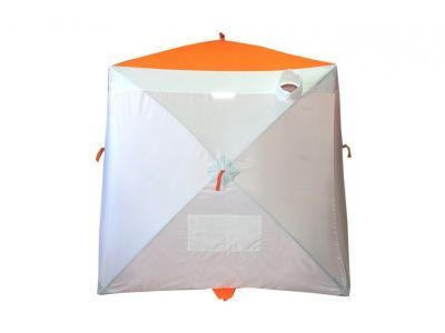 Палатка рыбака Пингвин Мr. Fisher 200Рыболовные палатки<br><br> Палатка рыбака Пингвин Мr. Fisher 200 обладает уникальным набором характеристик, позволяющим говорить о том, что и в эконом-классе есть возможность получить премиум-эффект ))))<br> 1. В первую очередь это специальная ткань для палаток Oxford Tent, высокая плотность плетения, пропитка PU 2000.<br> 2. Каркас из композитного материала и хаб из алюминиевого сплава.<br> 3. Дышащая вставка на боковой грани, данное расположение призвано исключить забивание снегом материала.<br> 4. Нашивки из широкой светоотражающей ленты обеспечат безопасность на льду.<br> 5. Два двухсторонних бегунка на молнии №10, большие и мощные слайдеры на специальной морозоустойчивой молнии.<br> 6. Вентиляционный рукав-клапан с утягивающей клипсой.<br> 7. Восемь оттяжек для крепления палатки – 4 на хабах и 4 на полу.<br> 8. Два вместительных кармана.<br> 9. Встроенный пол! Пол из оксфорда с складкой-клапаном посередине, позволяет удалять шугу из лунок, при просушке можно вывернуть наизнанку.<br> 10. Проверенное временем и тысячами рыболовов качество изготовления фабрики Пингвин.<br> <br> P.S. Так за счет чего же достигнута экономия :<br> 1. Убрана ветрозащитная юбка ( при наличии вшитого пола ее необходимость сомнительна, а вспомнив как она примерзает…..)<br> 2. Отсутствует чехол для палатки ( палатка упакована в полипропиленовый рукав, вы сами можете выбрать: поездить без чехла или купить чехол отдельно.<br> 3. Ликвидированы окна ( вентиляция осуществляется снизу приоткрыв бегунок или через складку-клапан в полу, вверху – через рукав-клапан)<br> 4. Исключены предметы роскоши: рым-гайка в потолке, потолочная карман-сетка, многочисленные карманы.<br> 5. Композитный пруток используемый для каркаса ниже по стоимости прутка из сплава В95Т1, который идет на «старшей» серии.<br><br><br>Инструкция по установке<br><br> 1.Вынуть укрытие из чехла (если имеется).<br> 2.При сильном ветре, в первую очередь, необходимо закрепить одну секцию на растяжк