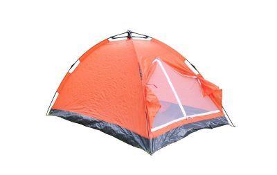 Палатка-автомат Reking 2-х мест. однослойная TK-174AТуристические палатки<br>Палатка-автомат Reking 2-х мест. однослойная TK-174A - эта недорогая однослойная палатка зонтичного типа, размер которой позволяет вместить в себя 2-х человек. Материал тента - полиэстер, плотностью 170Т. Палатка оснащена москитной сеткой, которая защитит отдыхающих от назойливых комаров. Установка палатки не займет много времени, так как она самораскладывающаяся, а в сложенном виде она имеет достаточно компактные размеры. Каркас изделия изготовлен из надежных стеклопластиковых дуг, материал весьма легкий и не имеет остаточных деформаций.<br>Характеристики:<br><br><br><br><br> Вес:<br><br><br> 1,92 кг.<br><br><br><br><br> Водонепроницаемость:<br><br><br> 350 мм.<br><br><br><br><br> Все размеры:<br><br><br> внешние 200(Д)x125(Ш)x110(В) см // внутренние 194(Д)x118(Ш)x100(В) см<br><br><br><br><br> Высота:<br><br><br> 110/100 см<br><br><br><br><br> Каркас:<br><br><br> фиберглас 6,9 мм.<br><br><br><br><br> Материал:<br><br><br> полиэстер 170T, PA 350 мм.<br><br><br><br><br> Материал пола:<br><br><br> PE с огнестойким покрытием.<br><br><br><br><br> Обработка швов:<br><br><br> непрокленные швы.<br><br><br><br><br> Особенности:<br><br><br> противомоскитная сетка на входе, полуавтоматический каркас<br><br><br><br><br> упаковка габариты см:<br><br><br> 88*16*16<br><br><br><br><br>