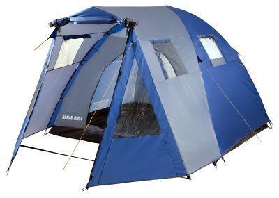 Палатка Trek Planet Dahab Air 5 (70236)Туристические палатки<br>Классическая кемпинговая палатка. <br> Простая установка. <br> Хорошая вентиляция. <br> Вместительный светлый тамбур. Обзорные PVC окна в тамбуре. Два входа в палатку с противоположных сторон тента. <br> Вентиляционное окно. <br> Москитные сетки на входах в палатку. <br> Внутренние карманы для мелочей. <br> Возможность подвески фонаря в палатке. <br> Водостойкость 3000 мм. <br> Швы проклеены.<br>Характеристики:<br><br><br><br><br> Вес:<br><br><br> 9,8 кг.<br><br><br><br><br> Водонепроницаемость:<br><br><br> Тент 3000 мм, дно 10000 мм.<br><br><br><br><br> Все размеры:<br><br><br> 310*440 см.<br><br><br><br><br> Высота:<br><br><br> 185 см.<br><br><br><br><br> Каркас:<br><br><br> фиберглас 9,5 мм, сталь 16 мм.<br><br><br><br><br> Материал внутренний:<br><br><br> 100% дышащий полиэстер.<br><br><br><br><br> Материал пола:<br><br><br> армированный полиэтилен (tarpauling).<br><br><br><br><br> Материал внешний:<br><br><br> 100% полиэстер, пропитка PU 1000 мм.<br><br><br><br><br> Обработка швов:<br><br><br> проклеенные швы.<br><br><br><br><br> упаковка габариты см:<br><br><br> 67*23*23<br><br><br><br><br>