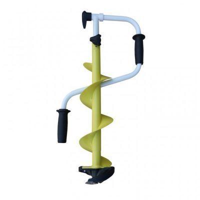 Ледобур ICEBERG-MINI 130(R) двуручный, телескопический, правый, полукруглые ножиЛедорубы<br>Компактный ледобур Iceberg-Mini 130(R) - новинка в модельном ряду ледобуров ТОНАР, которая направлена на импортозамещение дорогих аналогов зарубежного производства. Модель ледобура предназначена для рыбалки на водоемах с небольшой толщиной льда, но способна сверлить лед толщиной до 85 сантиметров. Эргономичный дизайн ледобура «Iceberg-Mini» позволит сэкономить силы и время на сверление лунок, а значит, рыболов сможет уделить больше времени ловле рыбы. Ледобур имеет цельнотянутый шнек с увеличенным шагом витков шнека до 150мм, что обеспечивает быстрое освобождение лунки от шуги, снижает усилие бурения и предотвращает заклинивание шнека. Съемная голова выполнена из прочного композитного материала, поэтому выдерживает большие нагрузки и гарантирует постоянный режущий угол ножам. Радиальные ножи из высококачественной стали подходят для работы со всеми типами льда, обеспечивая легкое сверление. Телескопическая вставка-удлинитель позволит при помощи 4 фиксированных отверстий выдвижения отрегулировать высоту ледобура под толщину льда, а нескользящие «теплые» ручки обеспечат максимальный комфорт при бурении. Полимерное покрытие выдерживает резкие колебания температуры и сильные механические нагрузки. Имеется возможность установки электро и бензомотора. Отличное соотношение цена-качество!<br>Характеристики<br><br><br><br><br> Все размеры:<br><br><br> Длина в рабочем положении - 1070 мм/ 1370 мм. Диаметр 130 мм.<br><br><br><br><br> Гарантия:<br><br><br> 1 год.<br><br><br><br><br> Материал:<br><br><br> Сталь, композит<br><br><br><br><br> упаковка вес кг:<br><br><br> 3.1<br><br><br><br><br> упаковка габариты см:<br><br><br> 63*33*16<br><br><br><br><br>