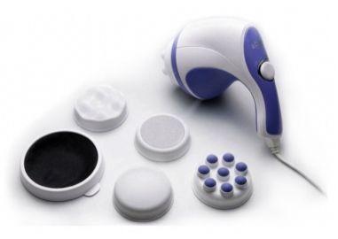 Массажер Relax Max (Релакс Макс), вибромассажер для спины, для плеч, для телаРучные массажеры<br>Массажер Relax Max (Релакс макс, 5 насадок)<br> <br> Рекомендуем посмотреть все массажеры для тела<br> <br>Массажер Relax Max – уникальное вибромассажное устройство для расслабления мышц и обретения здорового тонуса после сидячей или напряженной работы. Все понимают, что сеанс хорошего массажа просто необходим для здоровья. Но далеко не все могут позволить выкроить свое время и средства для посещения профессионального массажиста, похода в фитнес клуб или на занятия в тренажерном зале.<br> <br>Вибромассажер Релакс макс не только заменит профессиональный массаж на дому, но и позволит каждый раз выбирать время его проведения.<br> <br>Ведь воспользоваться массажером можно когда угодно, в наиболее комфортный для Вас момент времени.<br> <br><br>  <br><br><br>Полезные свойства массажера Relax Max<br> <br>И, несмотря на то, что платить за каждый сеанс массажа с Релакс Макс Вам не придется – качество проведения массажной процедуры удовлетворит всех. Никакой профессионал массажа не способен совершать 2500 петлеобразных движений массажной насадкой в минуту, а вибромассажер – может. Для лучшего результата Вы также можете подобрать нужный уровень интенсивности и выбрать самую подходящую для конкретного случая насадку из набора, применить массажное масло или антицеллюлитный гель. <br>  <br> <br>  <br> Конструктивные особенности Релакс Макс позволяют выбирать для каждого вида массажа одну из четырех специфичных насадок: для тонизирующего, расслабляющего, антицеллюлитного или лечебного массажа. С этим прибором можно устроить себе даже сеанс массажа пяток. <br>  <br> <br>  <br> Relax Max лечит, стройнит, пополняет энергией и расслабляет. Без применения лекарств с их набором противопоказаний, без утомительных тренировок и неприятных лечебных процедур уникальный мышечный тренажер Релакс Макс позволит не только расслабиться и обрести тонус, но и сделает тело здоровее, а фигуру - стройнее.<b