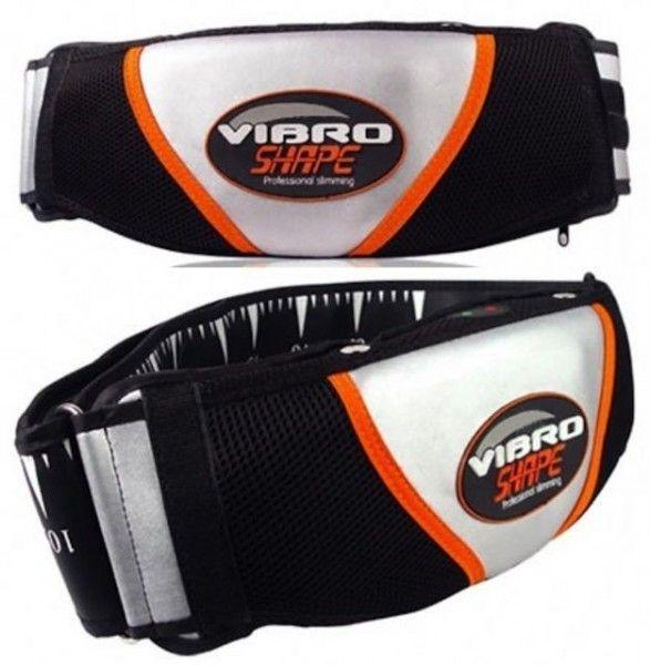 Массажный пояс для похудения Vibro Shape (Виброшейп) с эффектом сауны