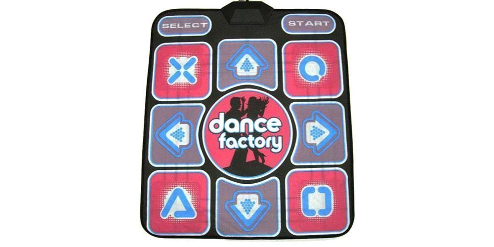 Танцевальный коврик DIROX Dance Pad Performance 2.0 (PC-USB-TV) Dance Factory