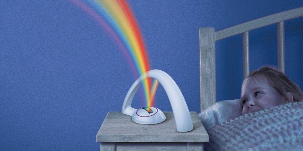 Нічник-проектор Веселка Lucky Rainbow