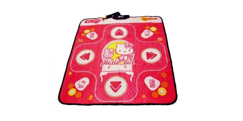 Танцевальный коврик X-tream Dance Pad Platinum (PC-USB) Hello Girl, розовый