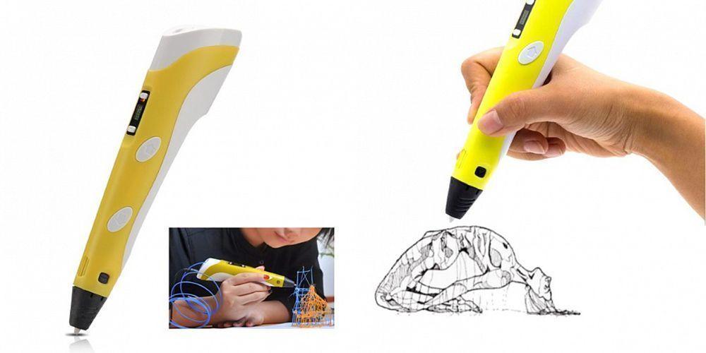 Ручка-принтер второго поколения 3D Pen Stereo (2 поколение)