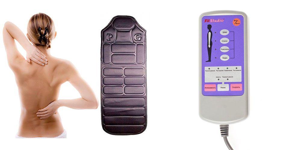 Купить массажный матрас с пультом управления аскона виктори матрасы
