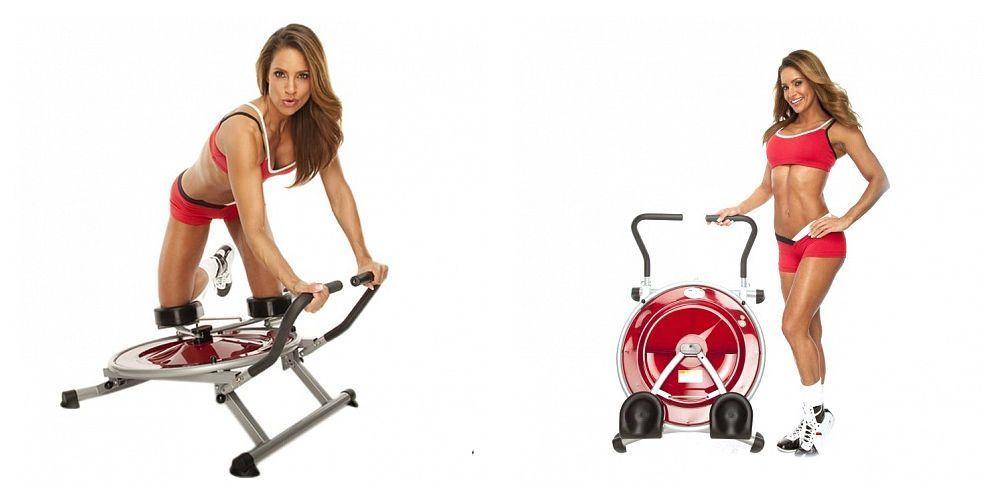 Тренажер для мышц живота, круговой МАЯТНИК (Ab Circle Pro)