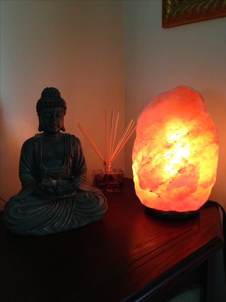 использование соляной лампы