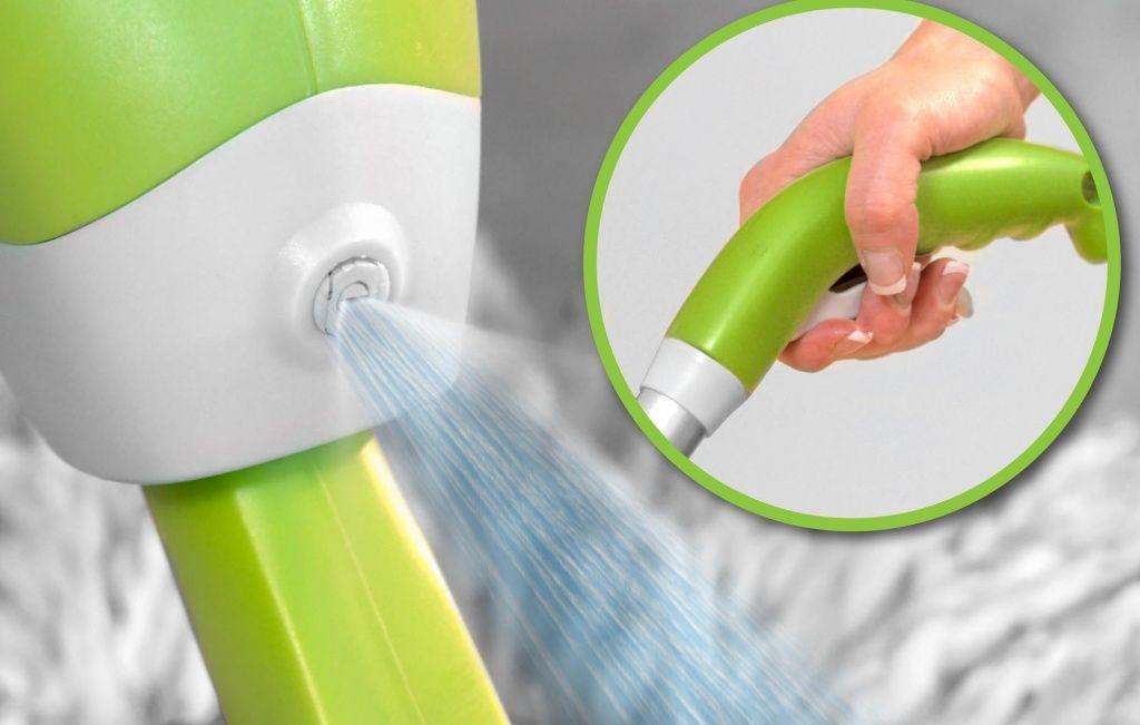Как пользоваться шваброй Spray mop Deluxe