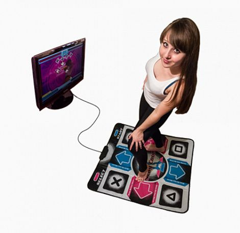 Танцевальный коврик DIROX Dance Pad Performance 2.0 (PC-USB-TV) Stay Cool
